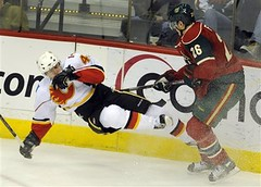 Flames Wild Hockey
