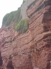 Sidmouth Cliff (Phantom_snapper) Tags: ocean uk sea vacation england holiday beach seaside devon sidmouth coastuk
