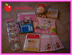 7th Janet Store Kawaii Order (Dreaming Magpie) Tags: hello pink set tim milk store strawberry sticker amy stitch kitty mini steam wash poodle kawaii online calculator letter huge janet flakes rag bun planner strawberrymilk janetstore