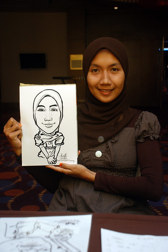 Caricature live sketching for Standard Chartered Bank - 16