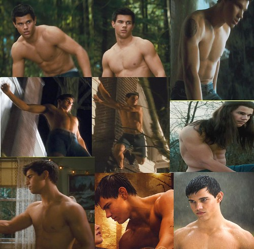 o yeah taylor lautner is totally hot i mean who would ever pick a pale vamp