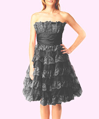 Got my Bridesmaid's dresses (BlythePonytailParades) Tags: pink wedding red party black dress tea lace johnson marriage bridesmaids cupcake dresses bridesmaid deb tulle betsey