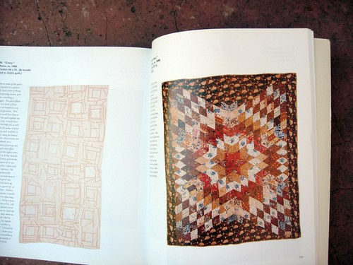 abstract design in american quilts