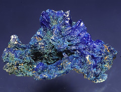 chalcanthite (MuseumWales) Tags: colour nature museum wales store natural crystal exhibition national collections online mineral vault gem specimen lustre gemstone mineralogy dislpay