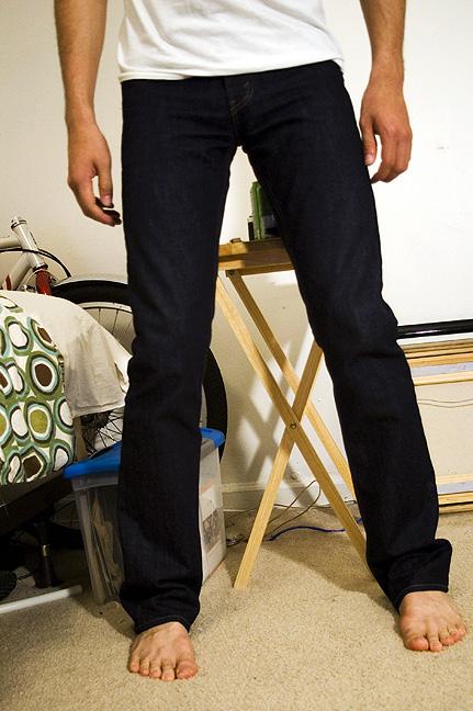 Levi 507 bootcut jeans