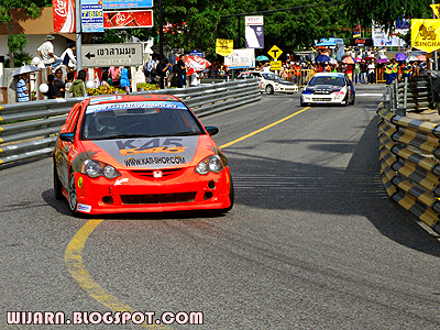 การแข่งขันรถยนต์ บางแสน ไทยแลนด์ สปีด เฟสติวัล
