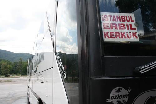 Autocarro Istambul até Erbil