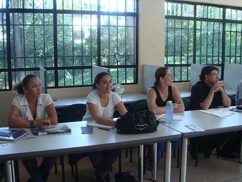 Taller de Química con Julie Yu- pre congreso 2009
