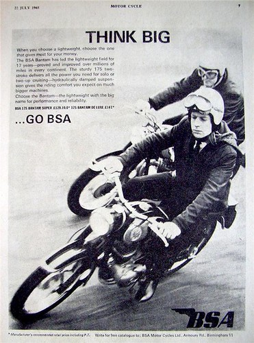 BSA - Think Big! 1965