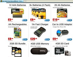 Duracell Direct Hot Deals