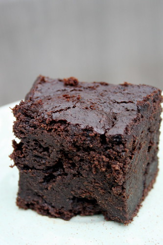 Dark Chocolate (Gluten Free!) Pumpkin Brownies : eatingappalachia.com