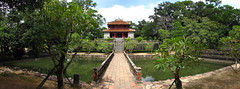 The tomb of Minh Mang