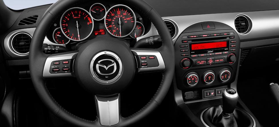 Sport interior Mazda MX-5 Miata