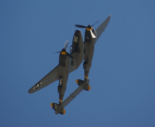 Warbird picture - P-38