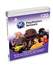 PSN Cards £20
