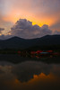I will be back....... (Lohb) Tags: sunset clouds fishing 1740 raban canon40d