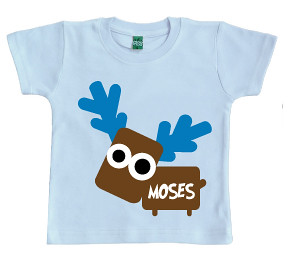 Christ Moo-se Blue -  Personalised