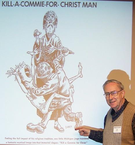 Kill a Commie For Christ Artist Phil Zaret