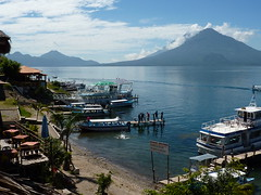 Lake Atitlan in Panajachel.