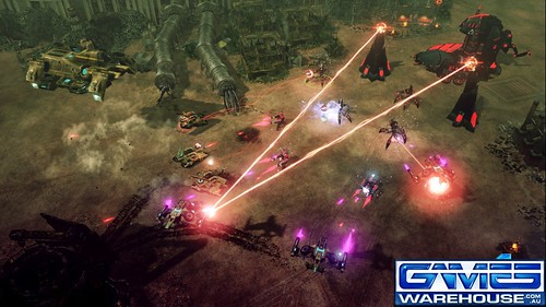 screenshot Command and Conquer 4: Tiberian Twilight