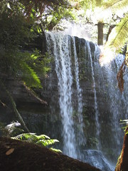 Russell Falls - Tasmania (suey_j) Tags: nature waterfall flora rainforest tasmania russellfalls