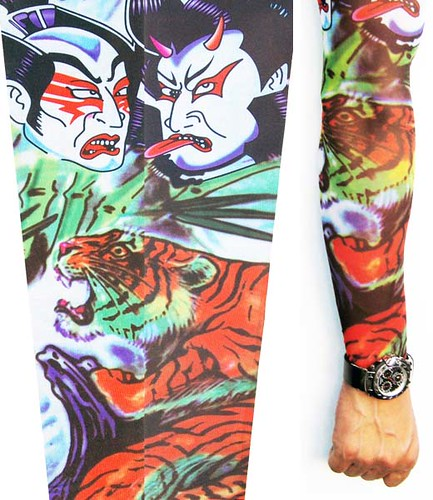 Kabuki Warrior. Bullyvard Tattoo Sleeves.