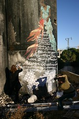 Swoon Wall (Wall in Palestine) Tags: art wall painting libert mur couleur crimes occupation douleur rsistance espoir isral colonisation honte criminel inpalestine