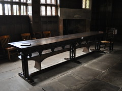 Board (redrickshaw) Tags: table hall cheshire board tudor mainhall littlemoretonhall