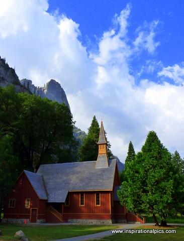 Old Church Yosemite- www.inspirationalpics.com