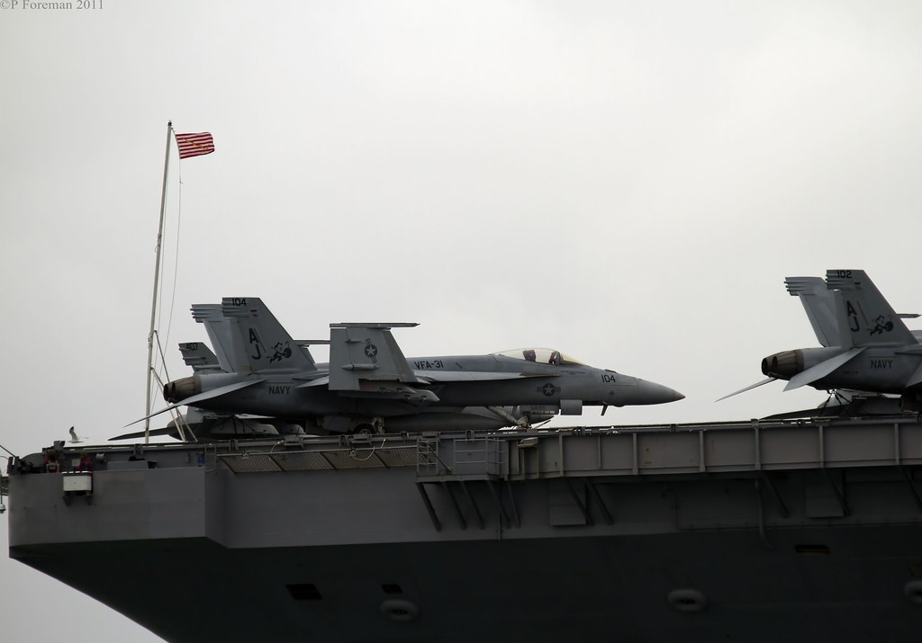 george w bush monkey. CVN-77 USS George W Bush by