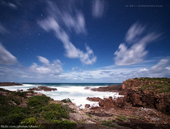 Boat Harbour Vertorama, Port Stephens (Christopher Chan) Tags: longexposure night canon stars australia nsw 7d newsouthwales 1022mm portstephens boatharbour vertorama