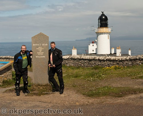 Dunnet Head - the most northernly point of mainland Britain.