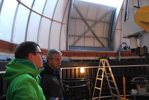 Prof. Andrzej Udalski and OGLE telescope