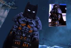 Batman Arkham origins, dlc cold cold heart, Batman XE suit. Read the description, write a comment. (artfiks15) Tags: lego batman arkham origins artfiks custom xesuit