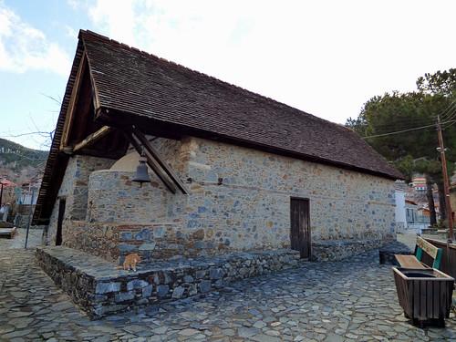 Pedoulas - Church of Archangelos Michail, exterior (2)
