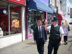 On the beat in Tooting Town Centre with Sgt Ian Martin