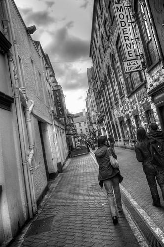 Walking Down French Church Street
