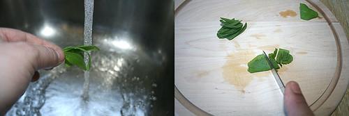 12 - Salbei waschen & schneiden