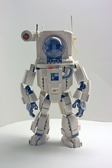 ALA-N Front (Brent Waller) Tags: alan robot lego space rover astronaut cosmonaut mecha bot mech