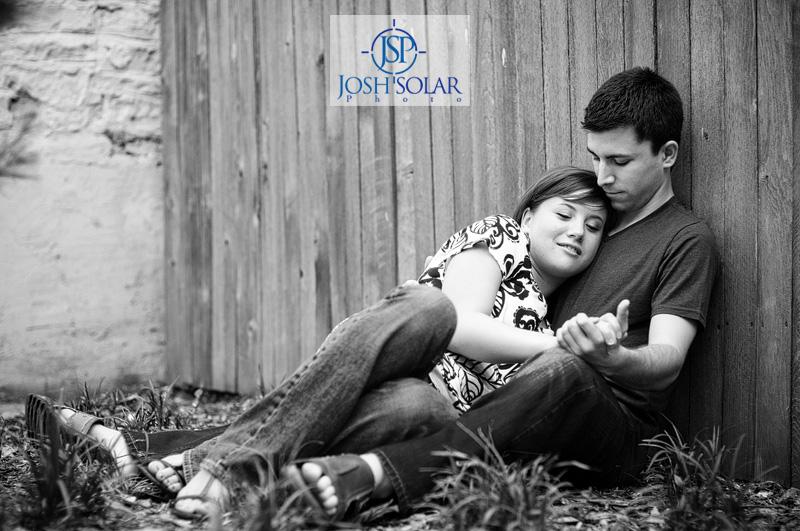 A Kansas City wedding photographer Solar Photographers portrait taken in Lawrence, KS. 2