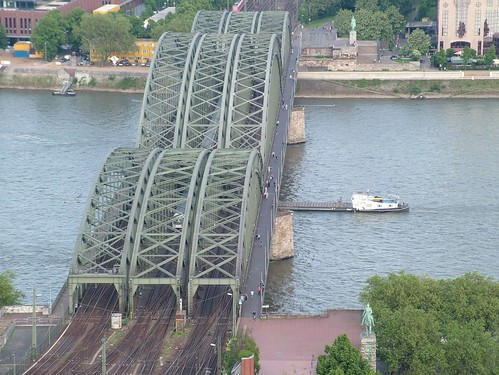 cologne cathedral Bridge View2