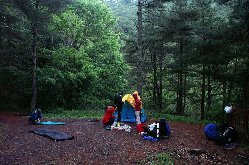 南湖大山day2-01 林道營地