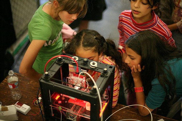 Girls and the MakerBot