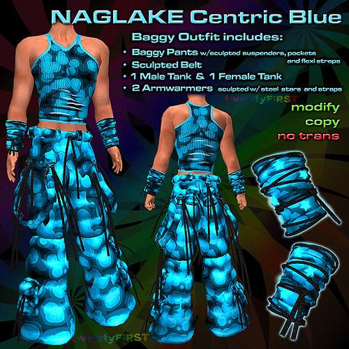 NAGLAKE Centric Blue