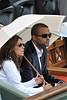 People à la finale de Roland Garros : Tony Parker et Eva Longoria