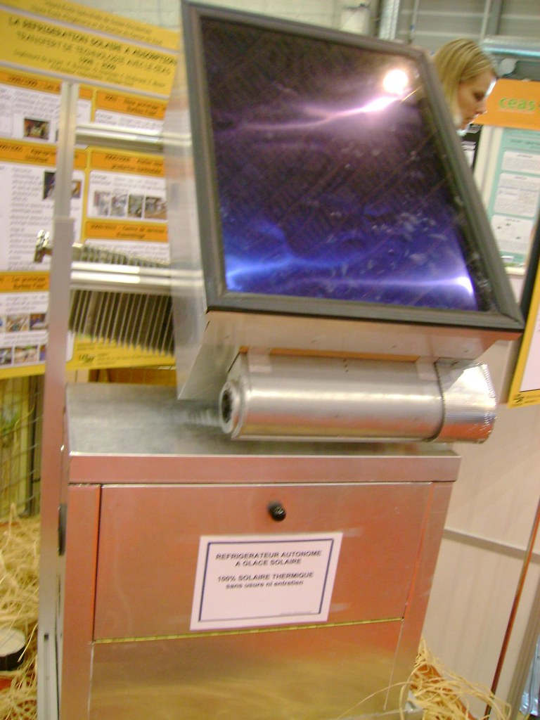 Energissima 2009, Solar-powered refrigerator