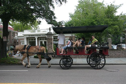 Carriage in Charleston.