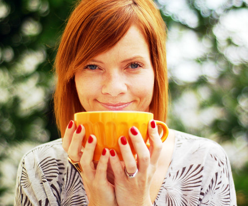 YIP: June 13th - Orange bowl of coffee
