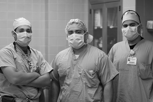 Some of the Ortho boys at work.
