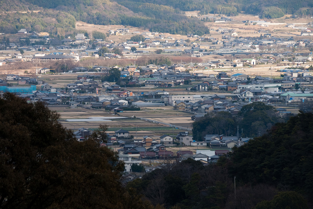 the southern part of Kotohira town